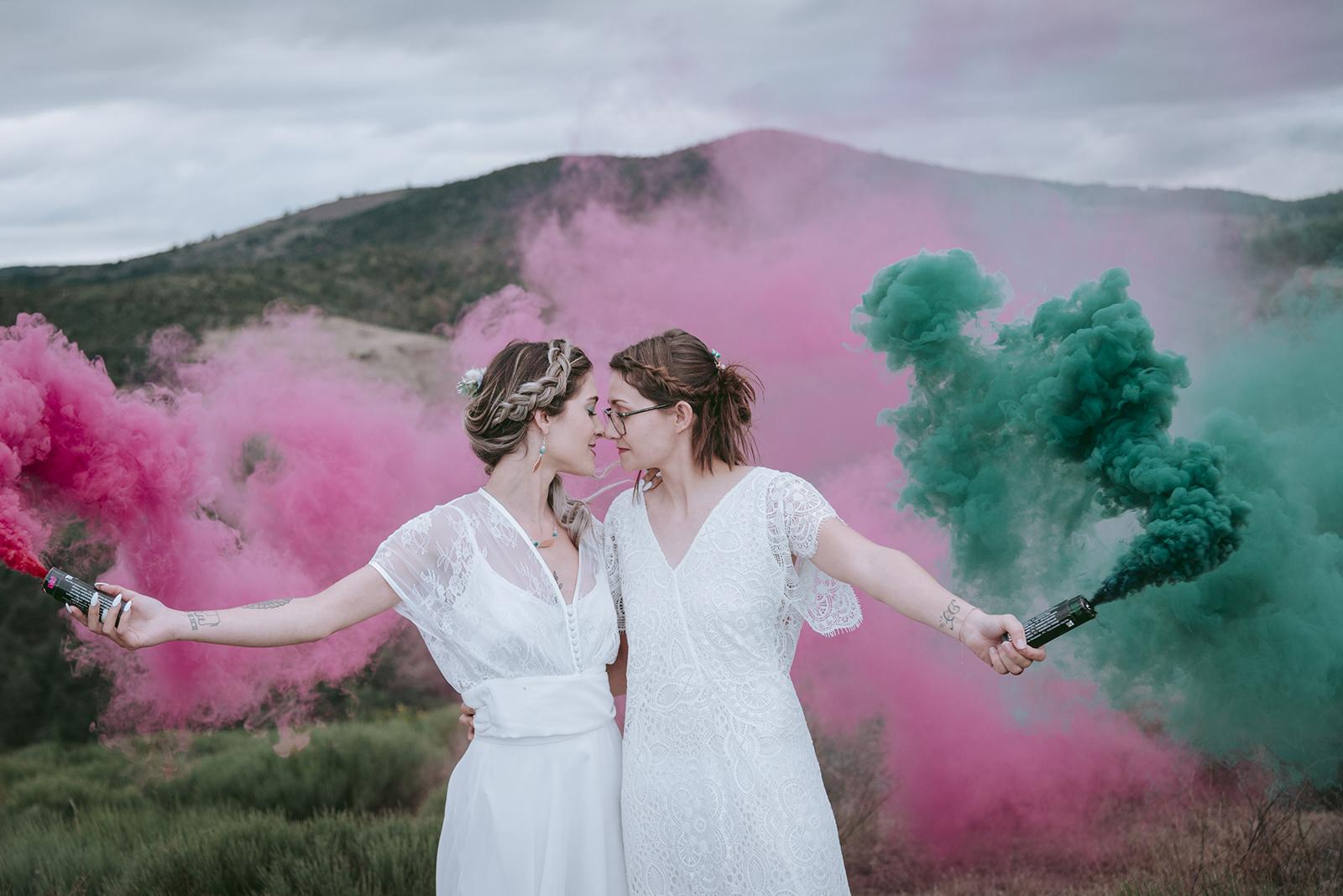 Shootin d'inspiration mariage en Ardèche