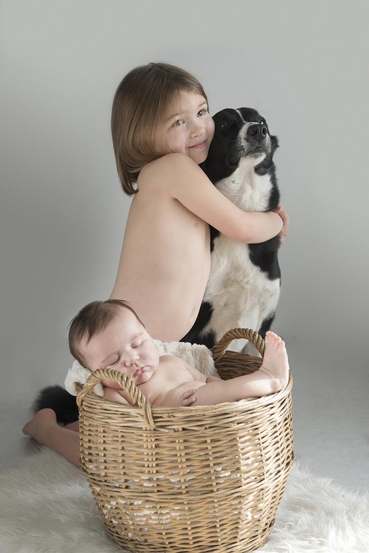 bébé en famille