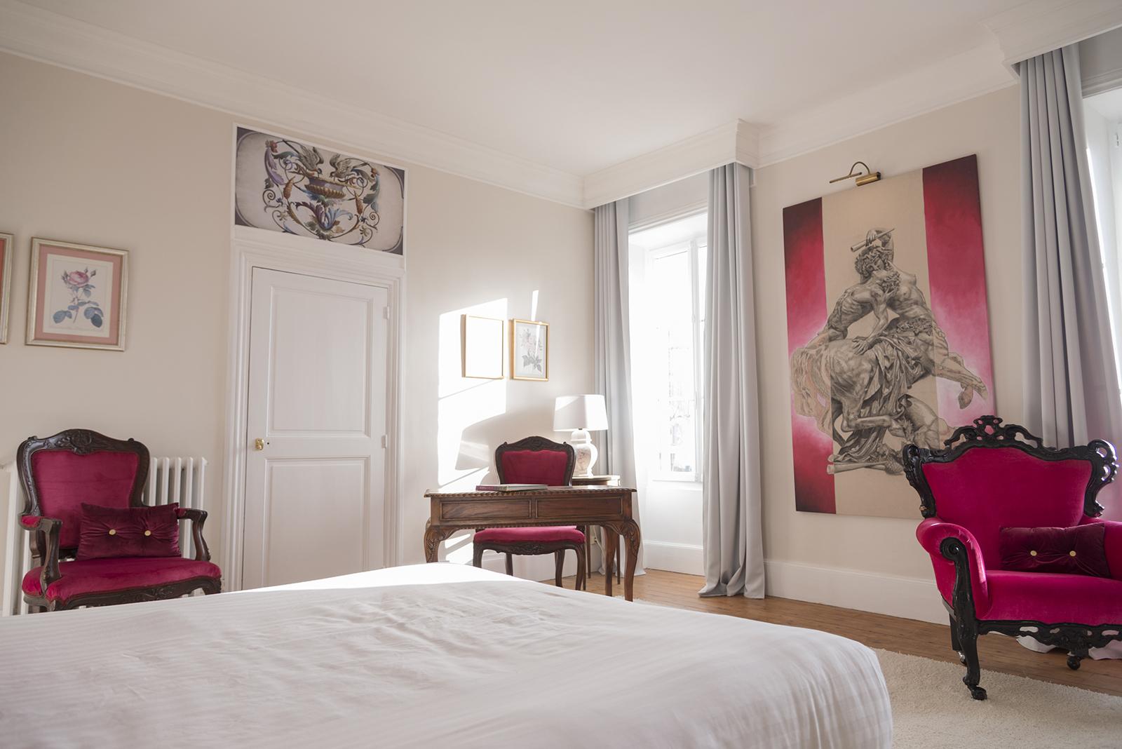 photo immobilière chambre de chateau