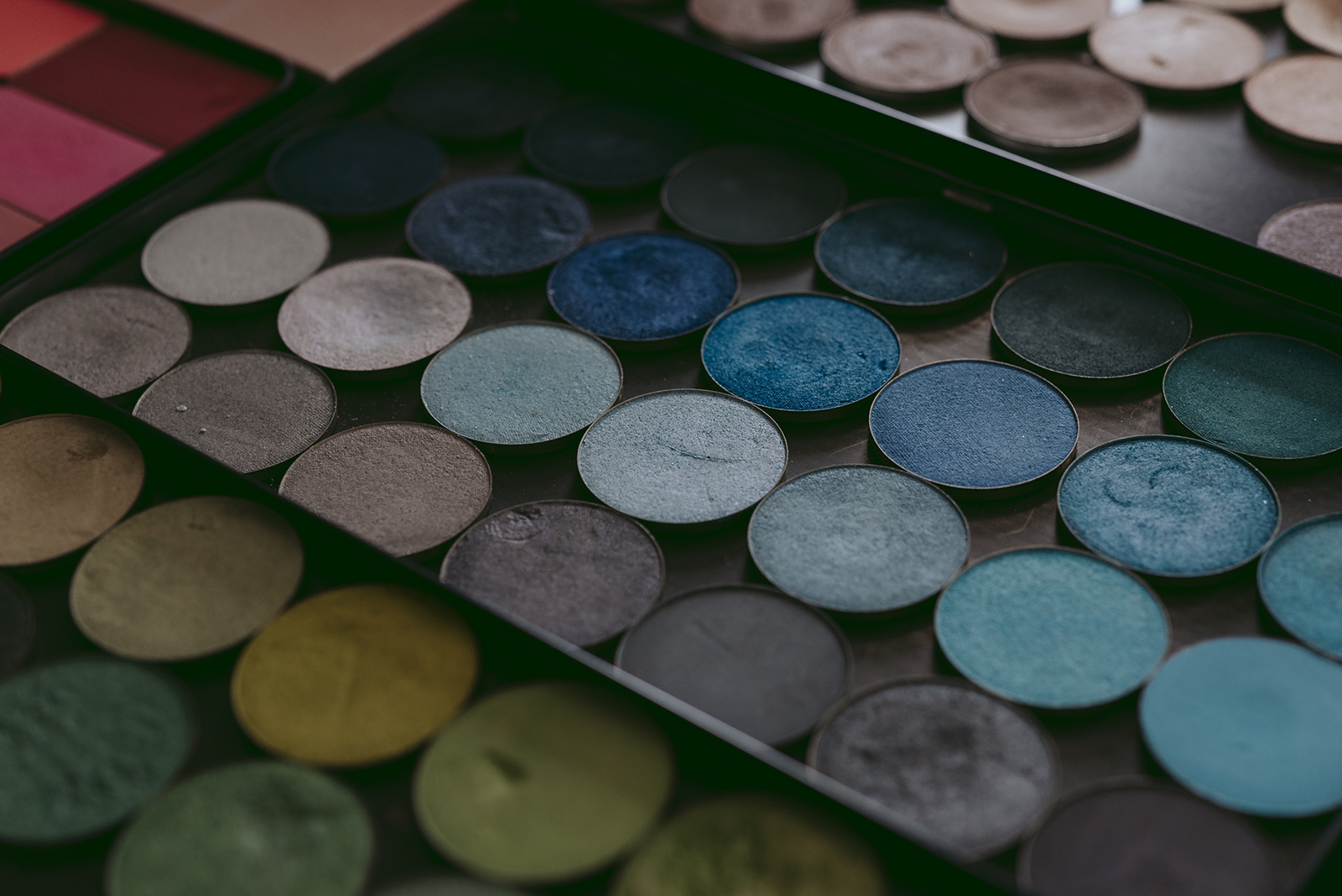 Photo de palette maquillage make up for ever