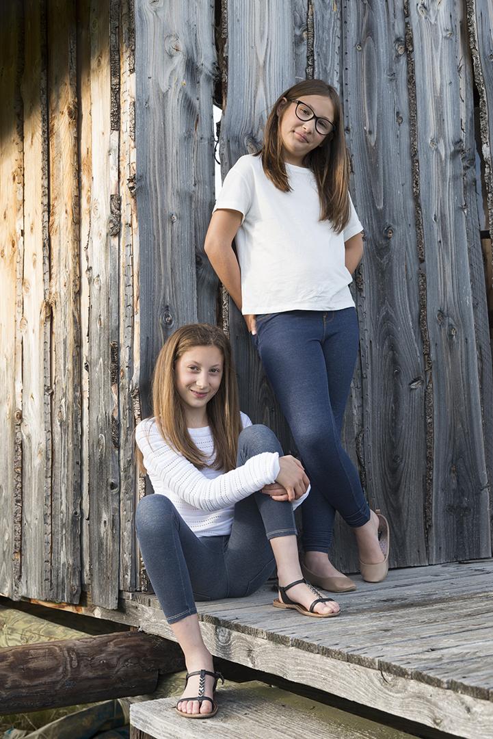 deux soeurs ambiance cabane en bois en ardeche