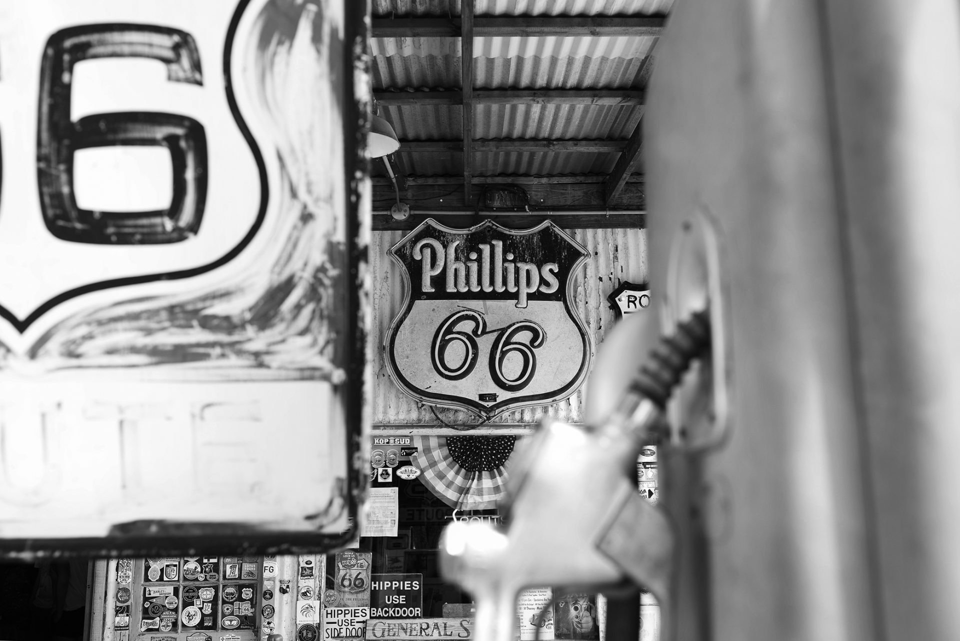 route 66 station essence
