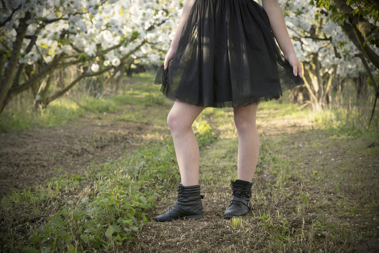 jambes de jeune fille