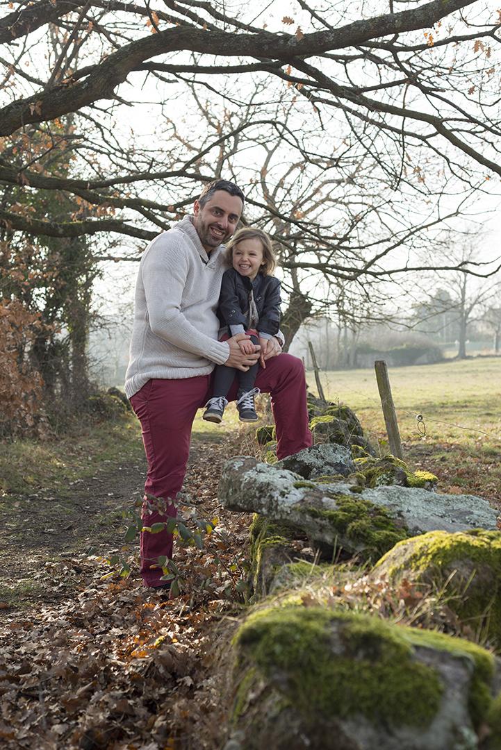 papa et sa fille
