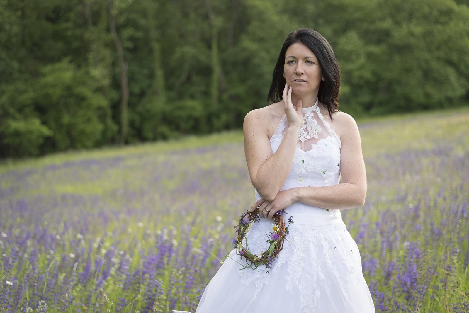 couronne de fleur bouquet mariage