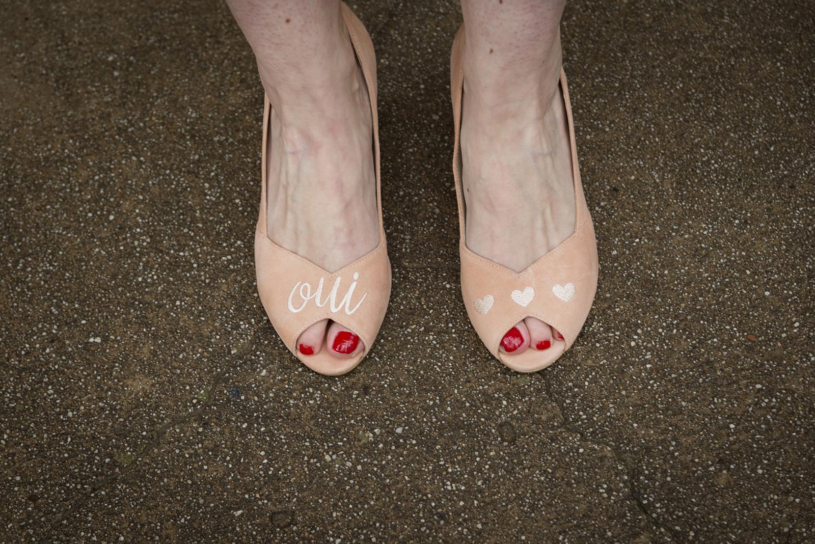 photo chaussure de mariage