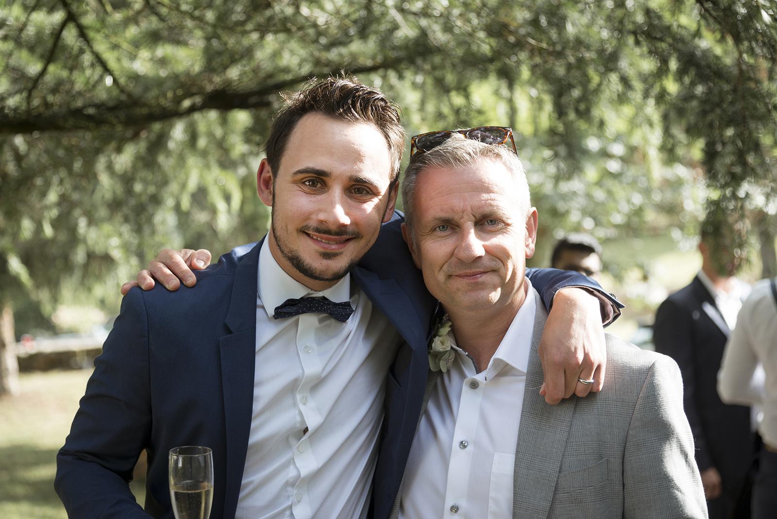 marié et invité