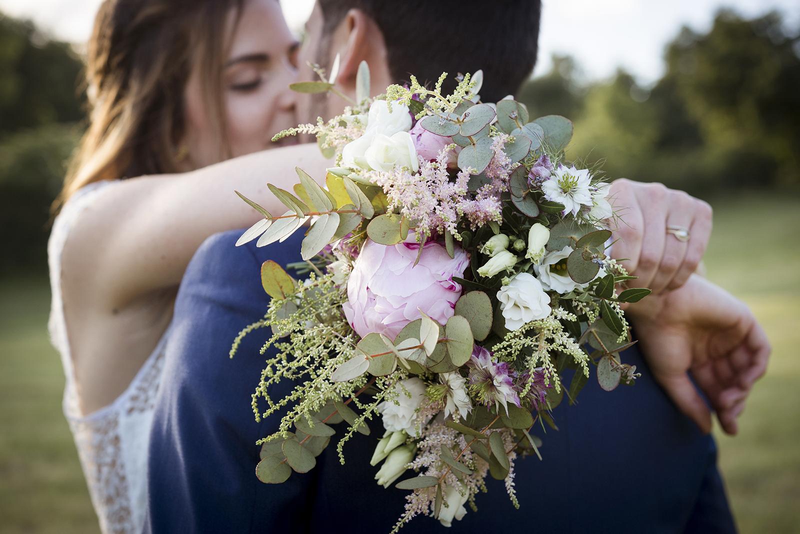 bouquet de pivoines mariage