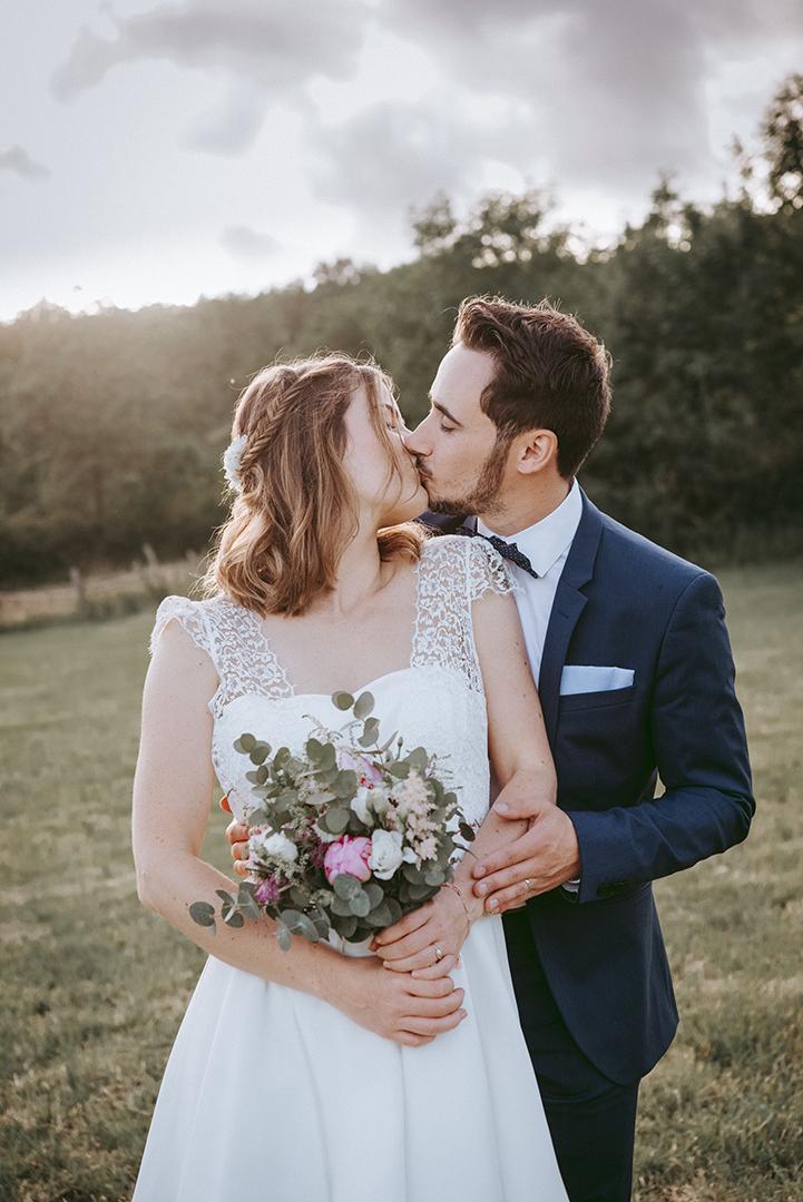 bisous des marié
