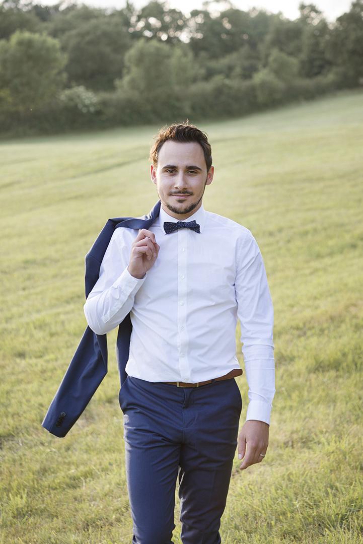 marié en costume