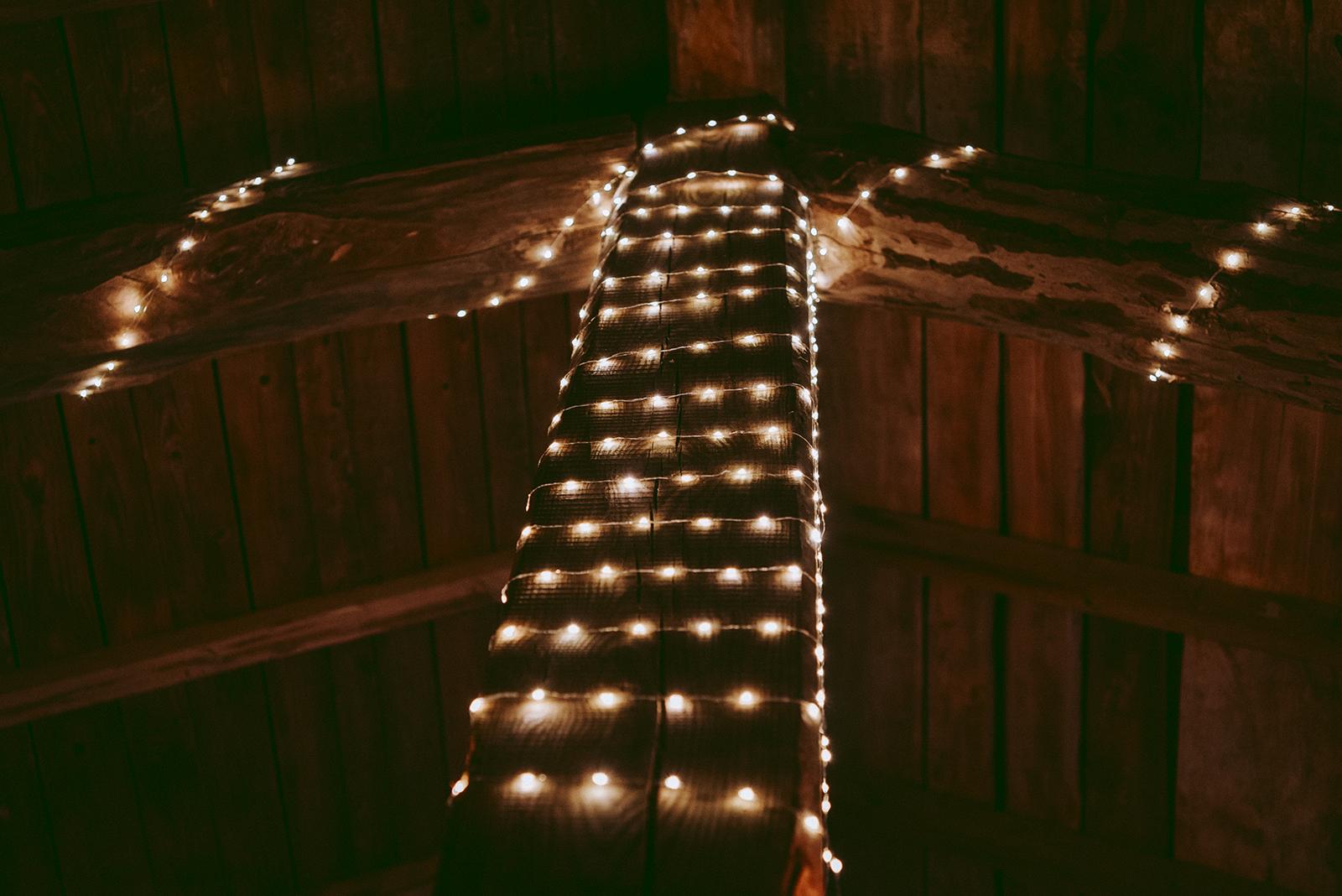 guirlande lumineuse guingette mariage