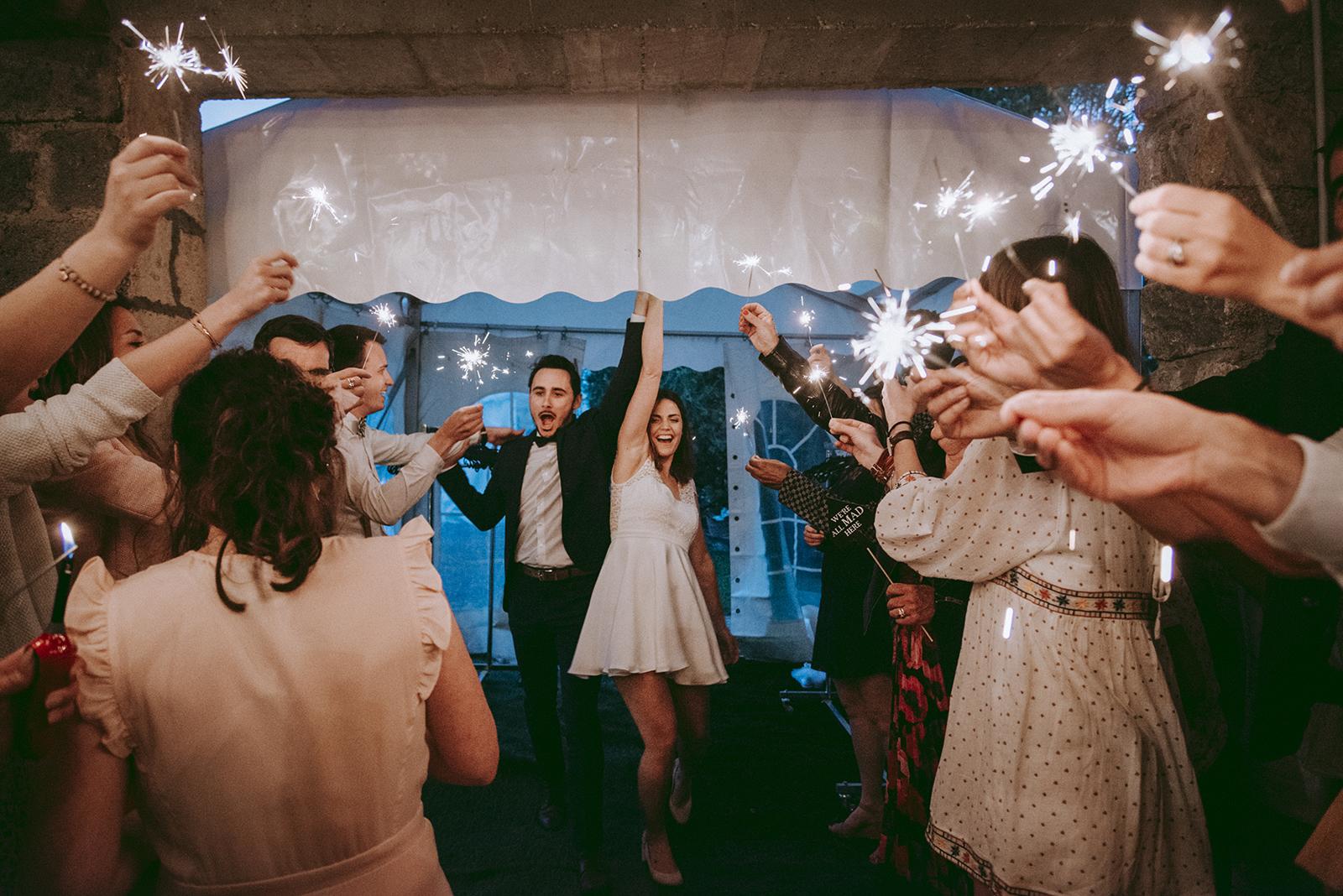 feus de bingalle mariage