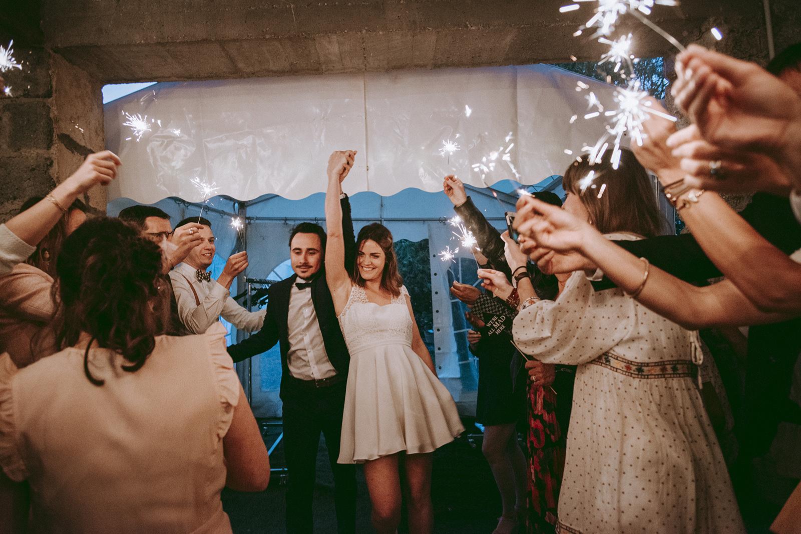 etincelles mariage